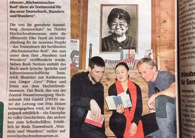 Presse Rosls Tourenbuch