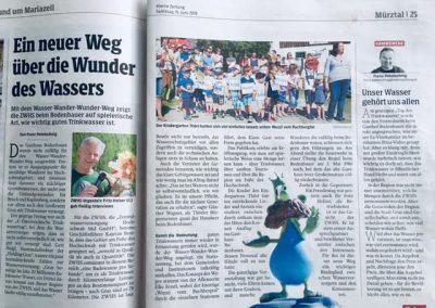 Presseartikel WWW-Weg Kleine Zeitung