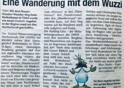 Presseartikel WWW-Weg Obersteirische Rundschau