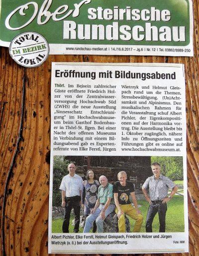Obersteirische Rundschau Ausstellung